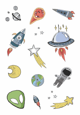 Outer space Sheet