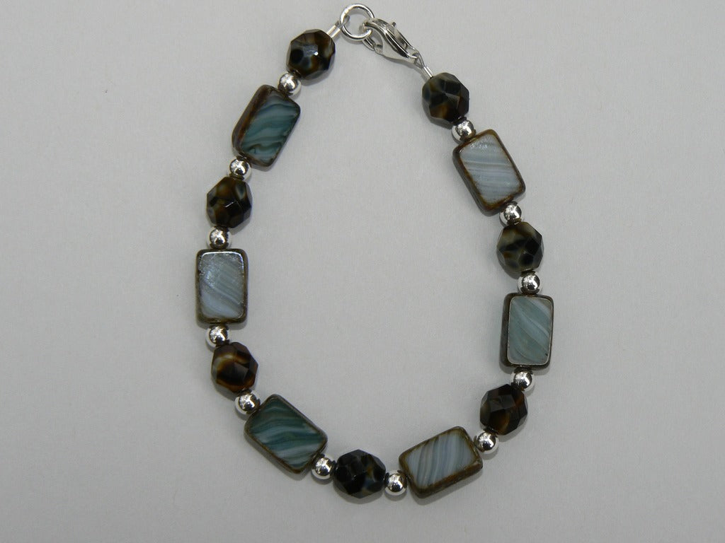 Czech Glass Bead Bracelet - SOLD