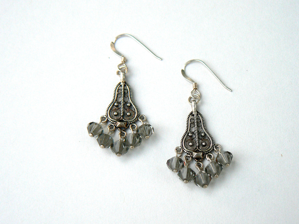 Swarovski Chandelier Earrings - SOLD