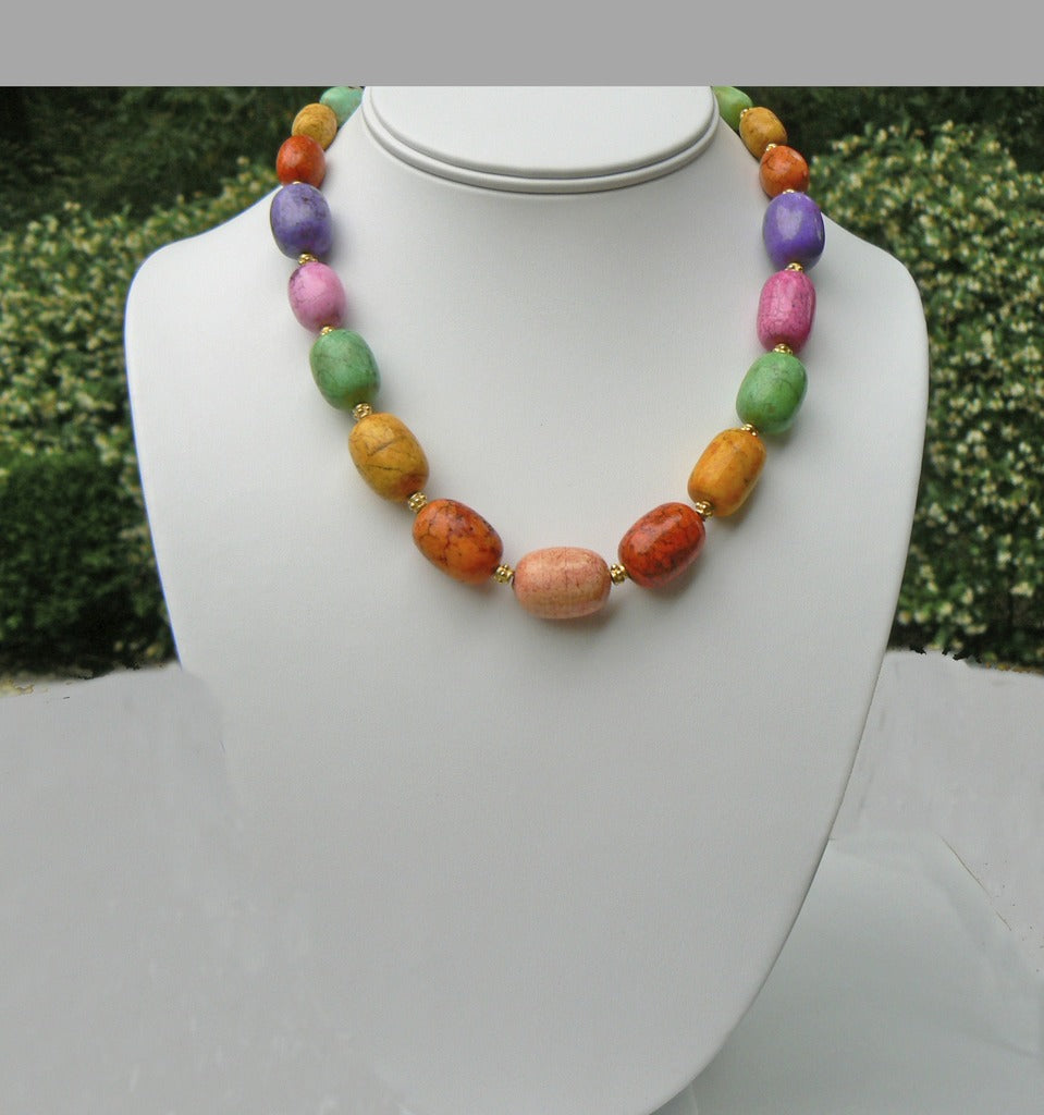 Magnesite Necklace - SOLD