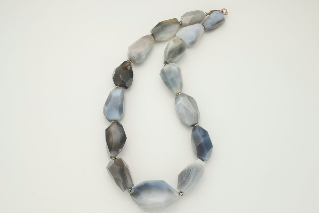 Botswana Agate Necklace - SOLD