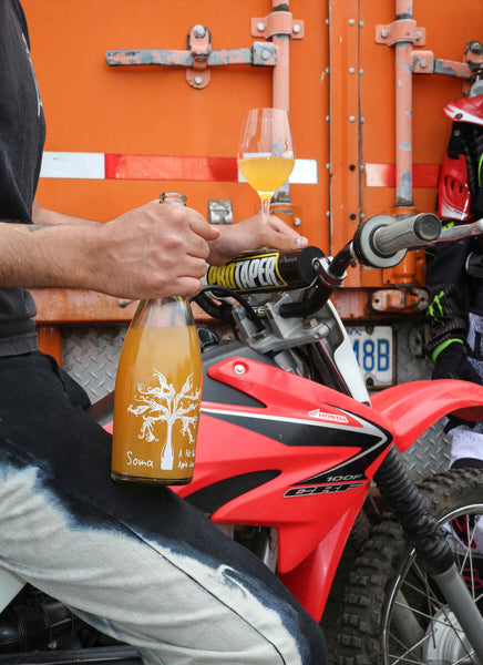 Soma Cider Revel Cider Pét Nat Apple Wine Motorcycle