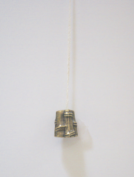 """Antique Brass"" Cord Pull - Osaka"
