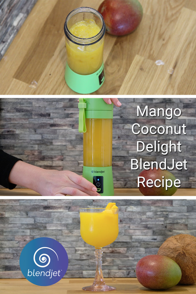BlendJet One Mango Coconut Delight