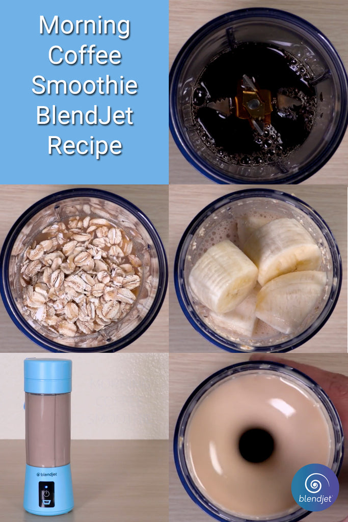 BlendJet Morning Coffee Breakfast Smoothie