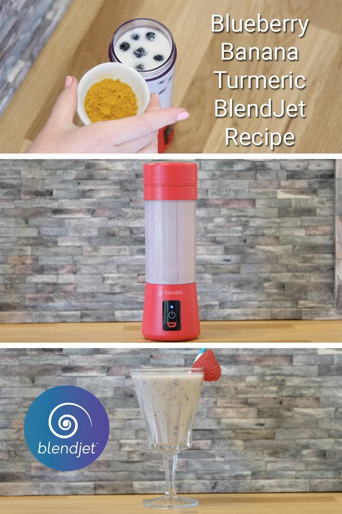 Blueberry Banana BlendJet Recipe
