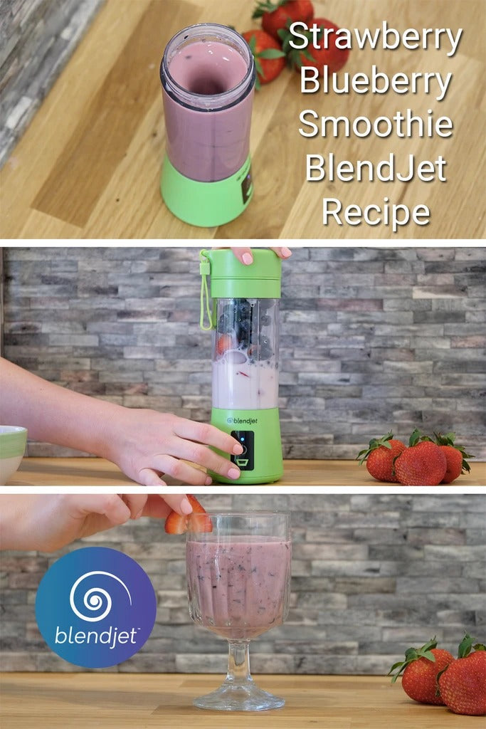 Strawberry Silk BlendJet Recipe