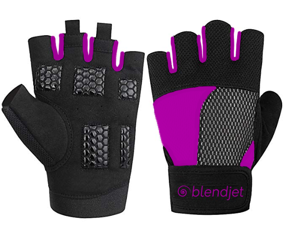 BlendJet Custom Lifting Gloves- Black or Purple