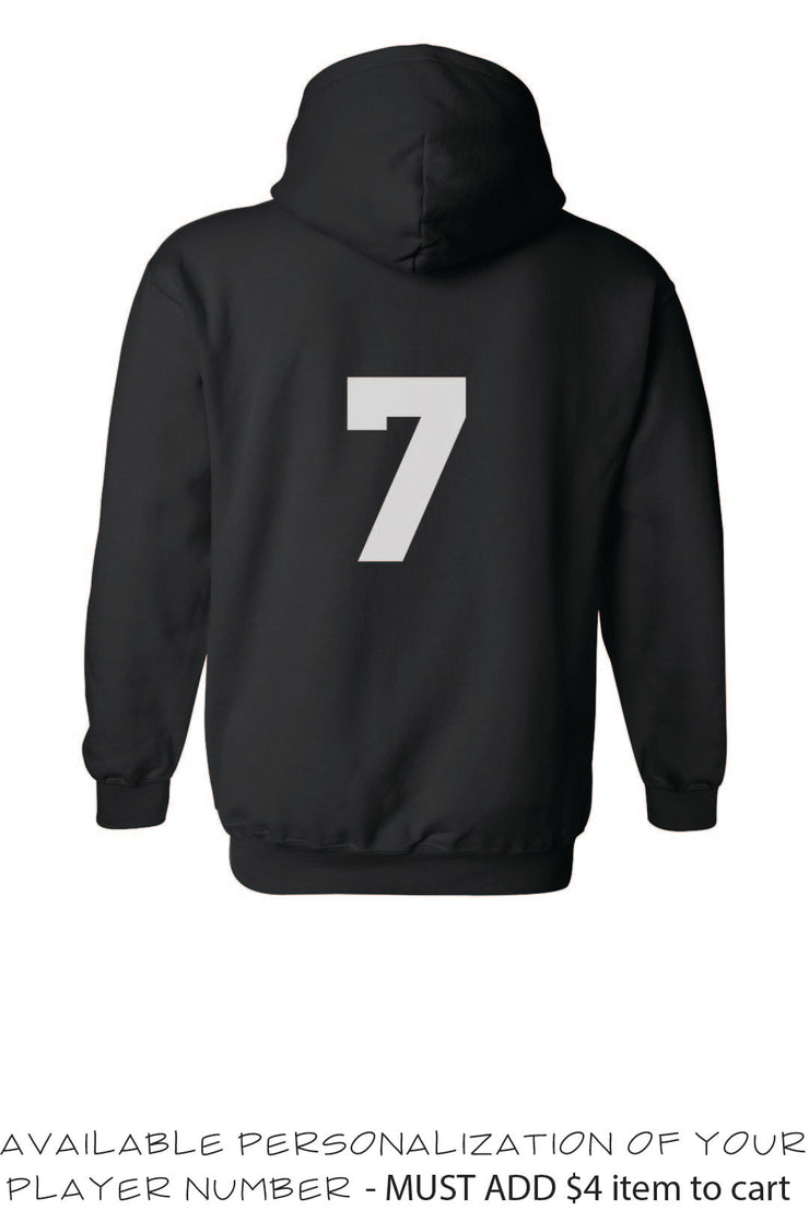 MO Jr Lacrosse Heavy blend - Hooded Sweatshirt -  ADULT