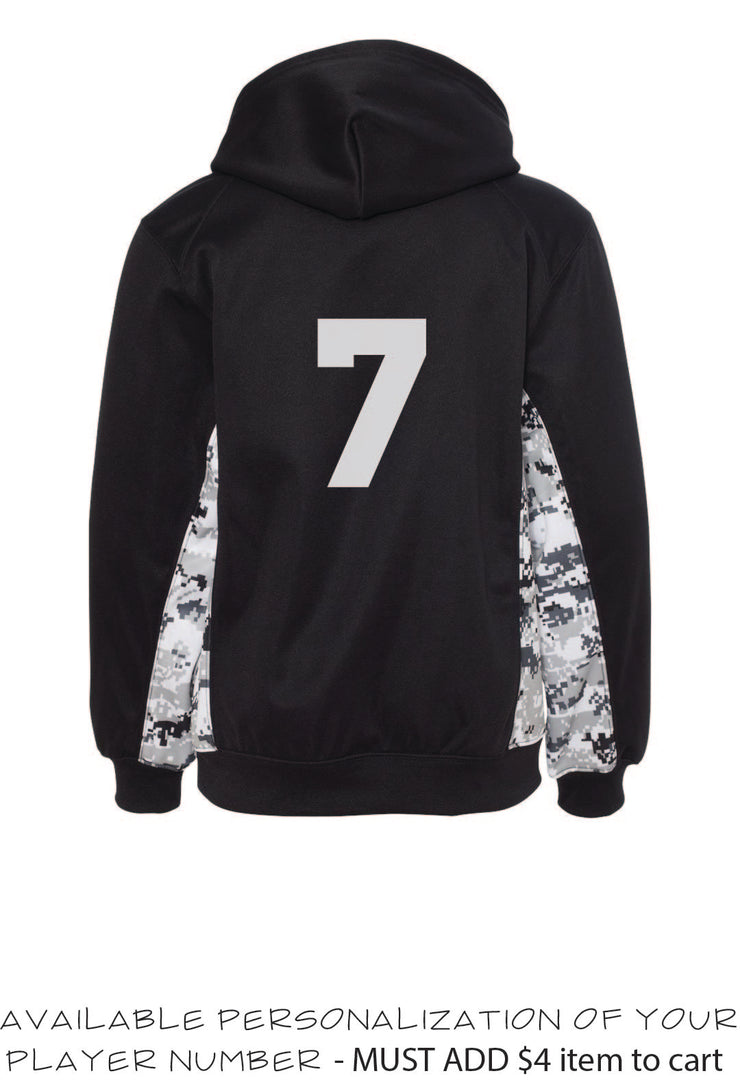 MOSC Pull-Over Hoodie - Camouflage PERFORMANCE - YOUTH