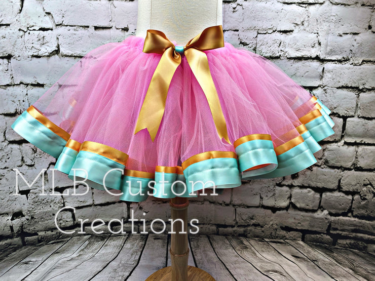 Double Ribbon Trim Tutu
