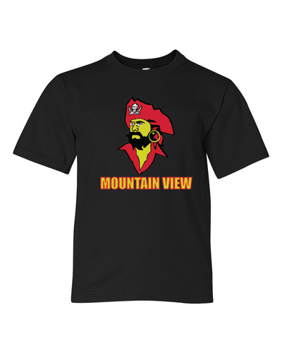 Mountain View Cotton Short Sleeve Tee - Youth