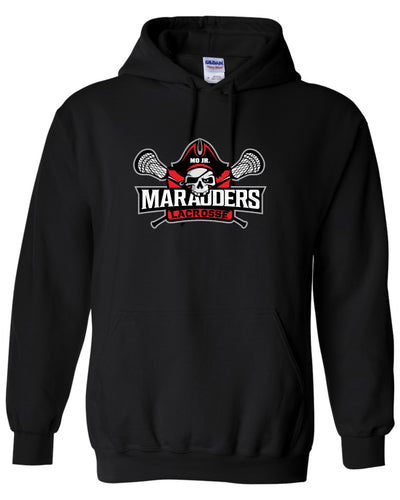 MO Jr Lacrosse Heavy blend - Hooded Sweatshirt -  TALL