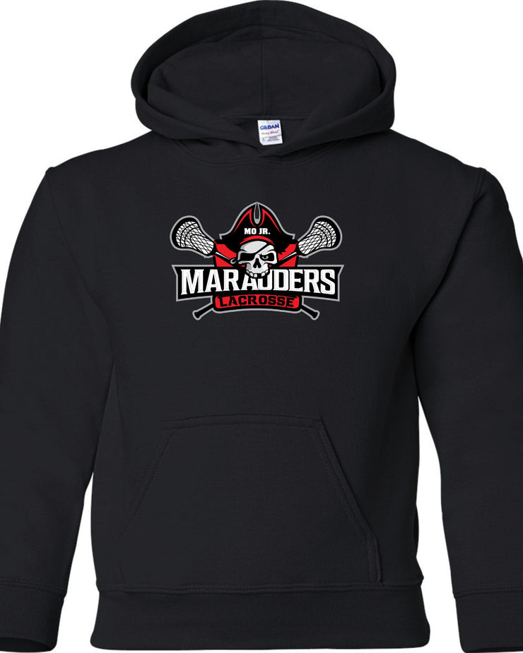 MO Jr Lacrosse Heavy blend - Hooded Sweatshirt -  YOUTH