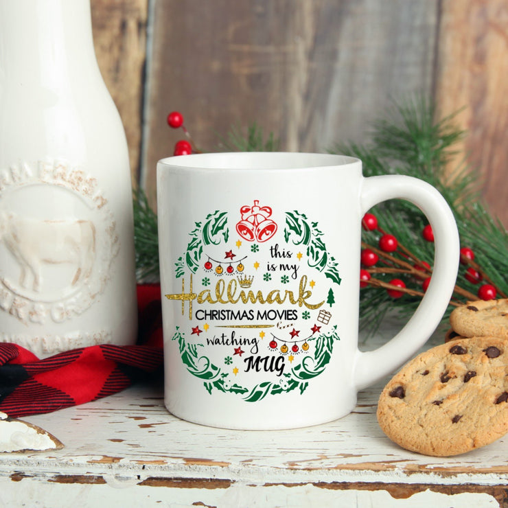 Hallmark Movies Mug - Christmas Coffee Mug