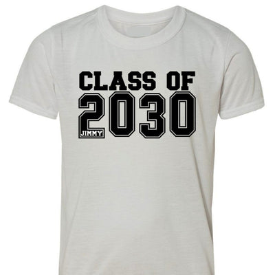 Class of 2031 - Back To School Shirt - Any grade