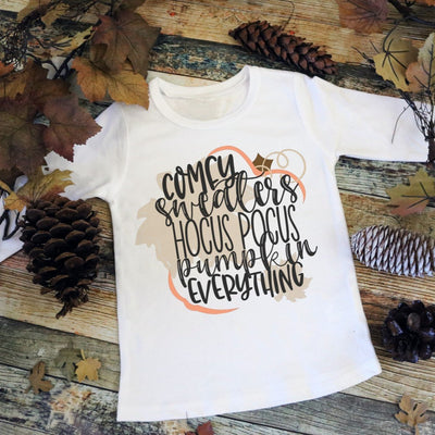 Fall / Autumn Shirt - Comfy Sweater Hocus Pocus, Pumpkin Everything