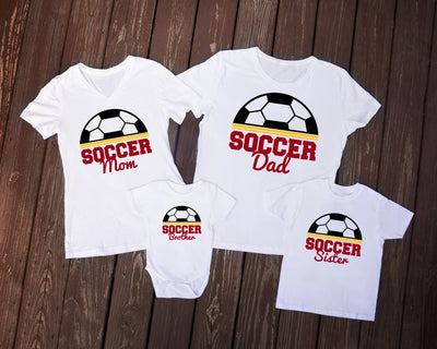 Soccer Family Spirit Wear