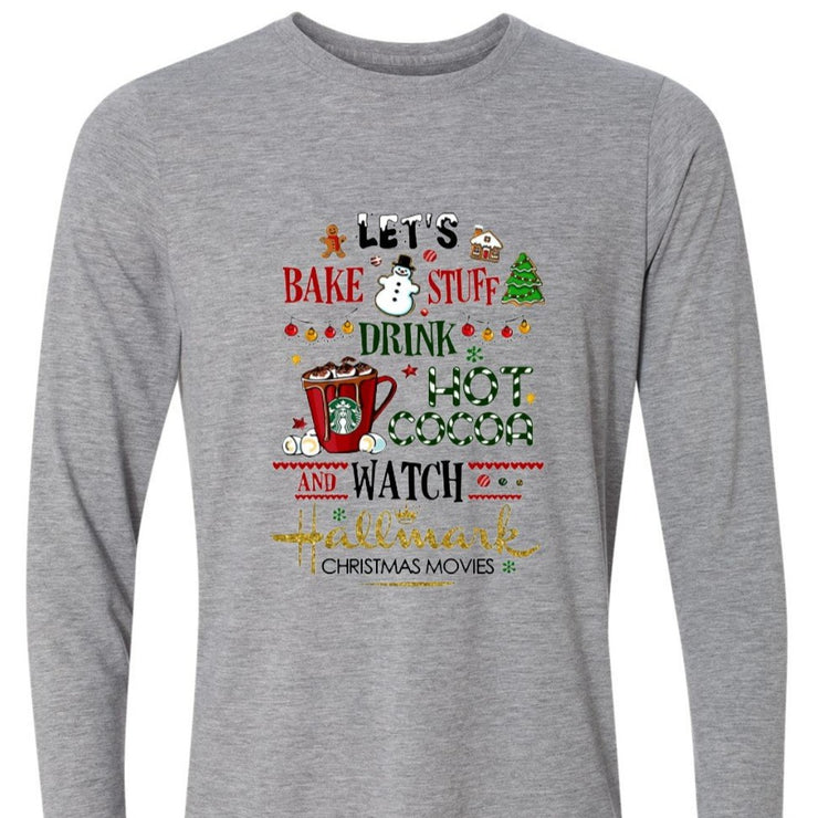 Christmas Shirt - Hallmark Movies and Hot Cocoa