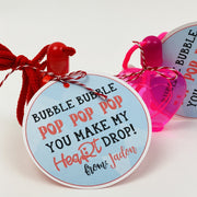 KIDS VALENTINES - Bubble Bubble Pop Pop Pop Exchange Cards