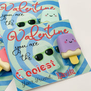 KIDS VALENTINES - Valentine You are the Coolest Exchange Cards