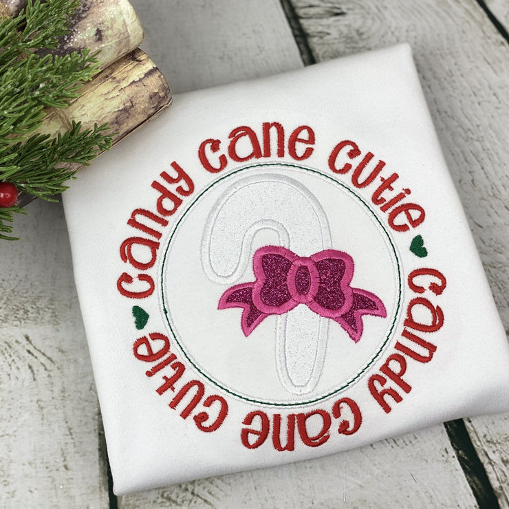 CANDY CANE CUTIE CHRISTMAS HOLIDAY SHIRT | KIDS SHIRT