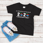 Kindergartener 2020 Quarantined T-Shirt with Apple
