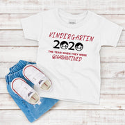 Kindergartener 2020 Quarantined T-Shirt