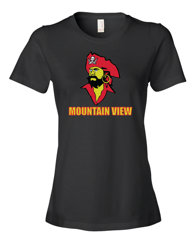 Mountain View Cotton Short Sleeve Tee - LADIES