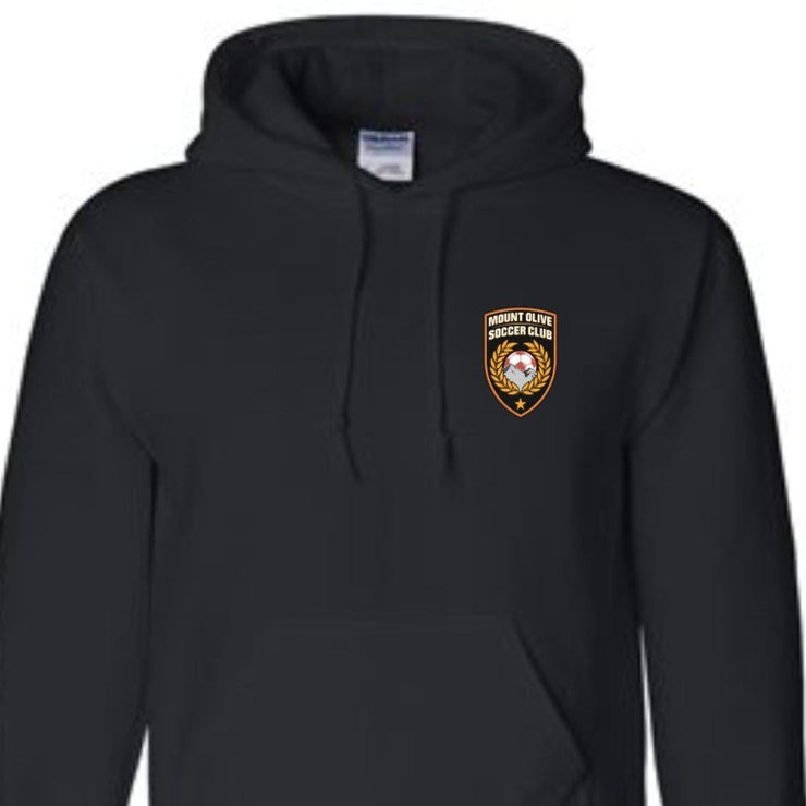 MOUNT OLIVE  SOCCER CLUB PULL-OVER HOODIE | MOSC APPAREL | ADULT SHIRT