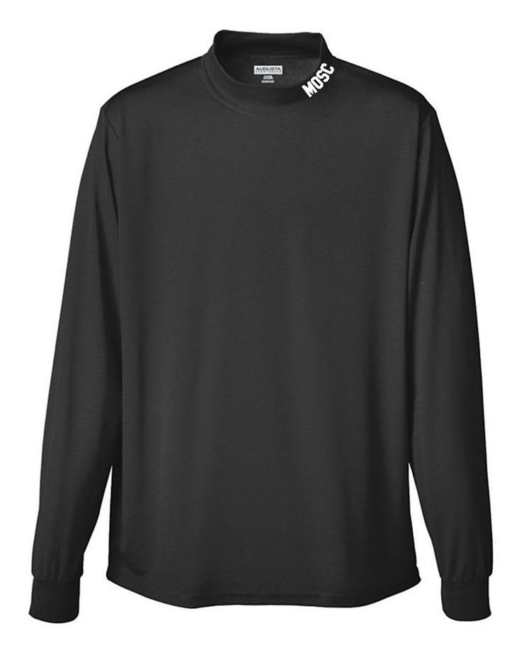 MOSC Mock Turtle Neck- Long Sleeve Performance Wear  - YOUTH