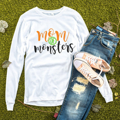 MOM OF  MONSTERS | FALL SHIRT | MOM SHIRT