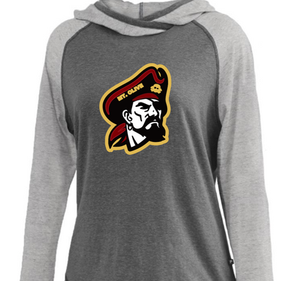 Girls / Ladies Tri-blend Hoodie