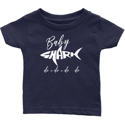 Family SHARK T-Shirts - KIDS Size Shirts