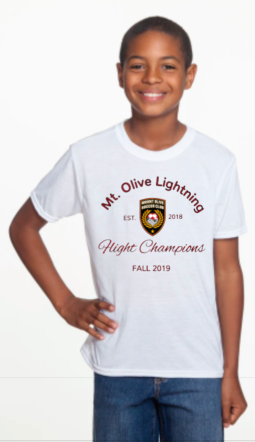 Lightning Flight Champions Spirit Wear