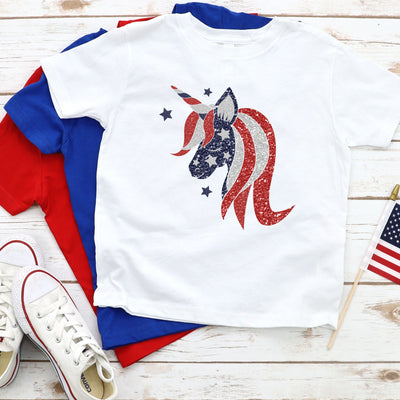 Unicorn Fourth of July T-Shirt