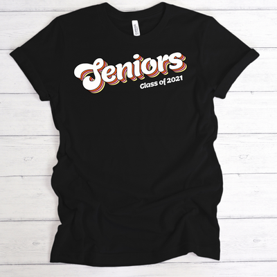RETRO SENIOR 2021 SHIRT | ADULT SHIRT