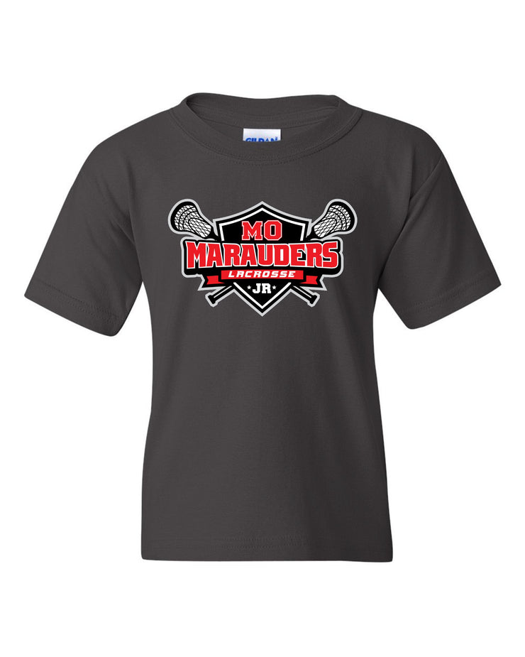 MO Jr Lacrosse Cotton T-Shirt - Short Sleeve -  YOUTH