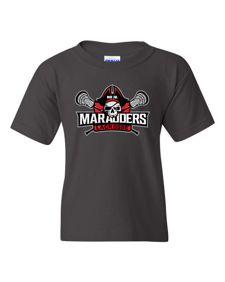 MO Jr Lacrosse Cotton T-Shirt - Short Sleeve -  TALL SIZES