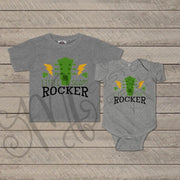 St. Patrick's Day - Baby/Kids Shirt / LITTLE SHAMROCKER / Saint Patrick's Shirt