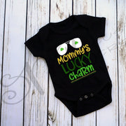 St. Patrick's Day - Baby / Kids Shirt / Mommy's Lucky Charm / Saint Patrick's