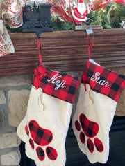 Personalized Pet Stockings - Dogs and/or Cats