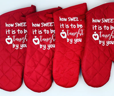 Oven Mitt - Personalized and Customizable