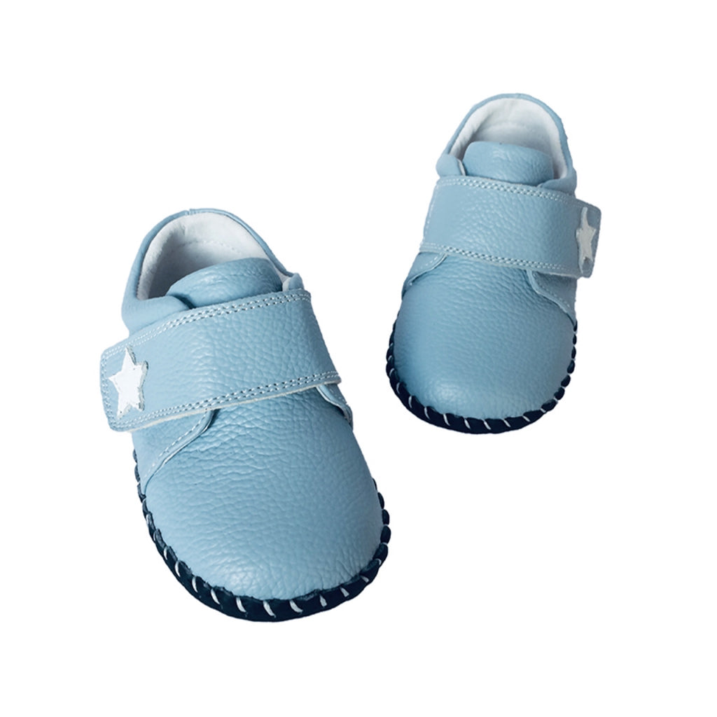 MerryGo Sky Light Blue Star Baby Shoes