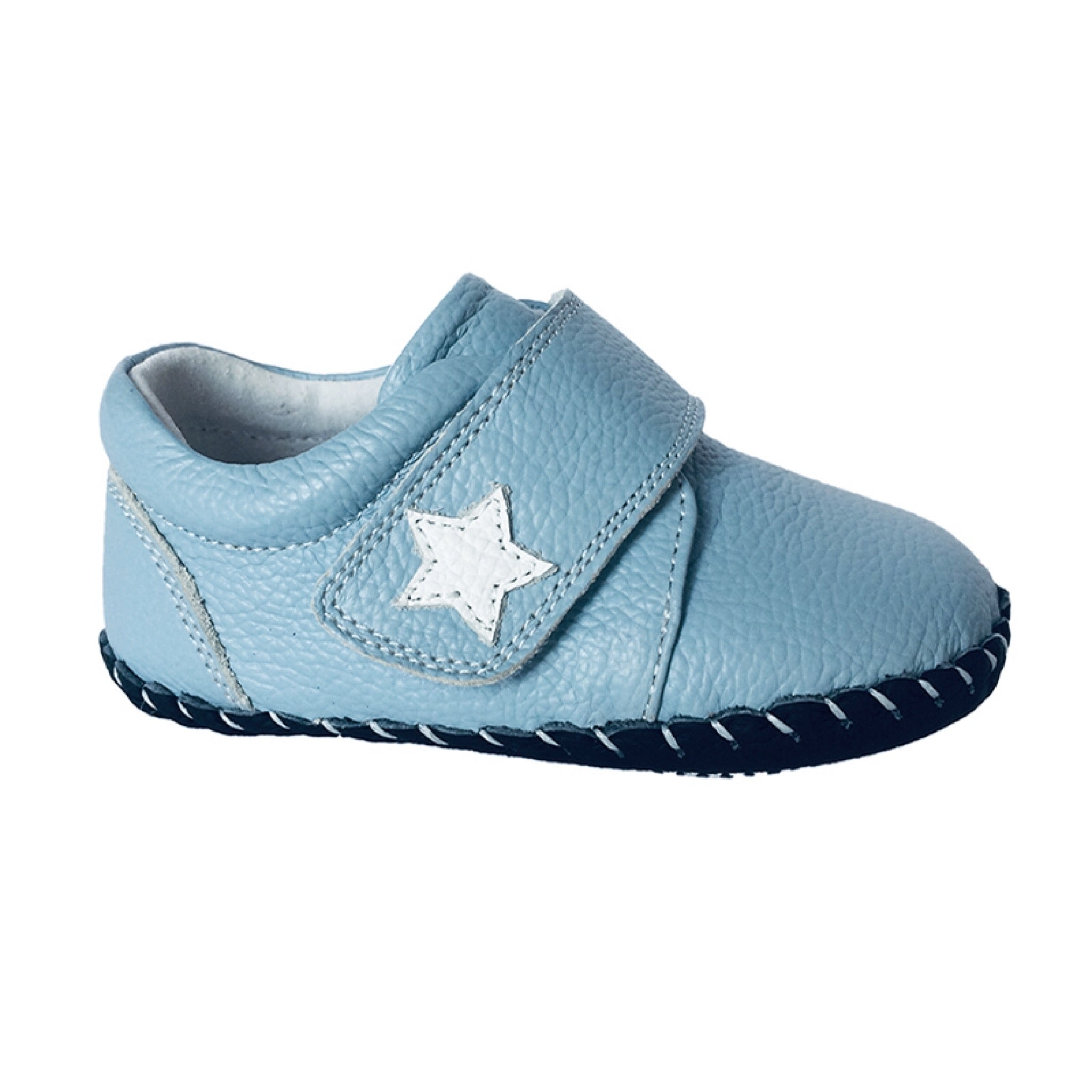MerryGo Sky Light Blue Star Baby Shoes (code Jan 2021)