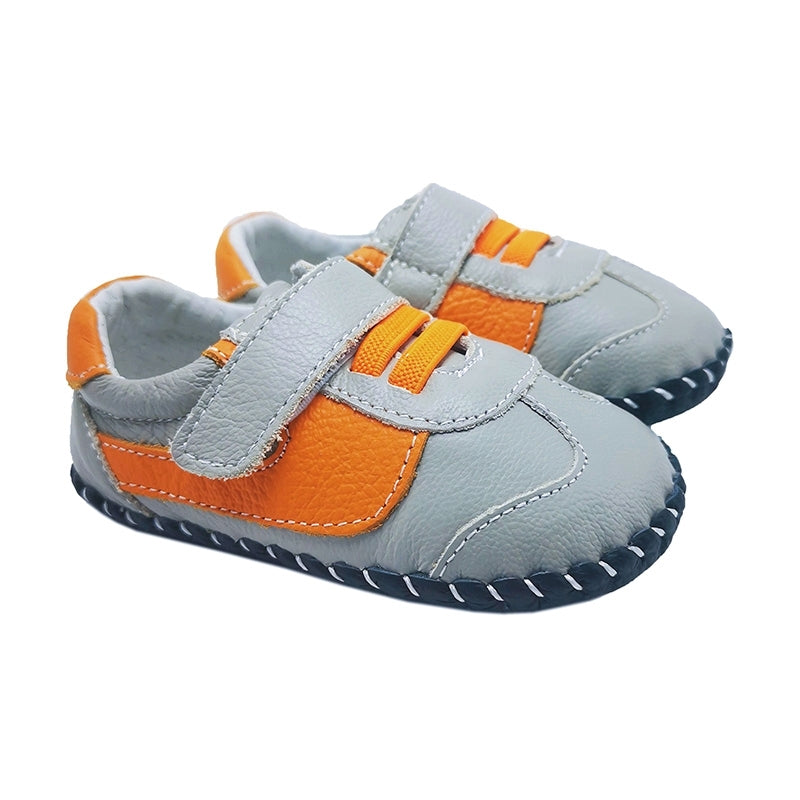 MerryGo Ben Grey Orange  Baby Shoes (code Jan 2021)