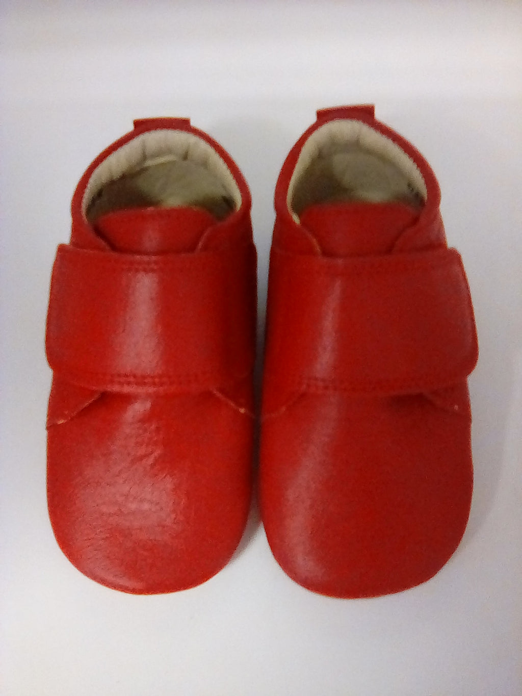 Rap Red Leather Baby Shoes