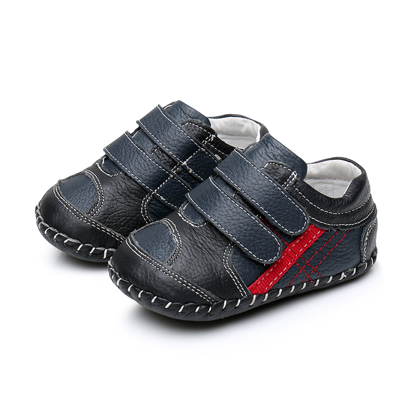 MerryGo Billy Navy Red Baby Shoes (code Jan 2021)
