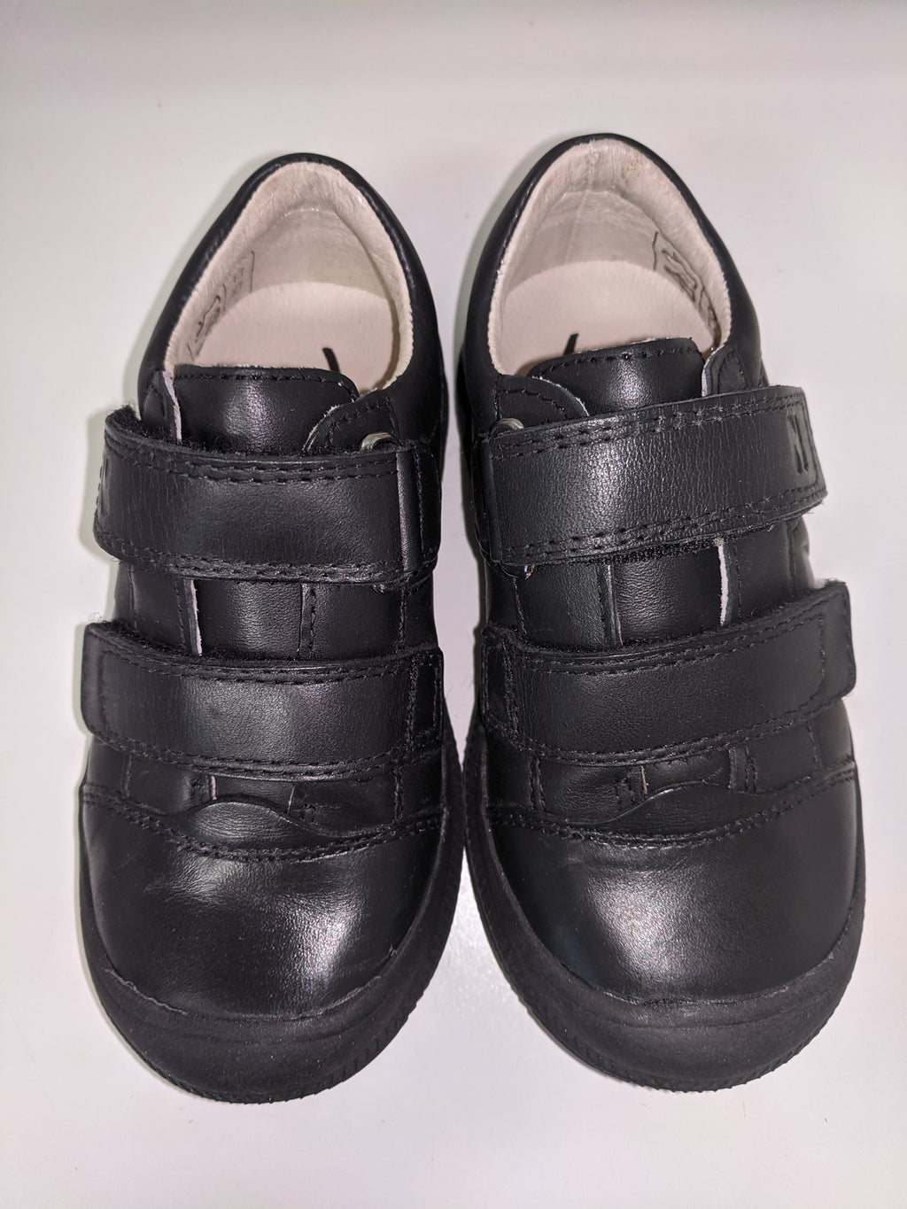 Noel Everas Black School Shoe