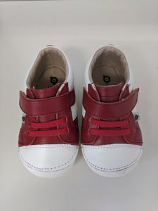 ( New Stock) Old Soles Ground  Pave Red / Snow / First Shoes